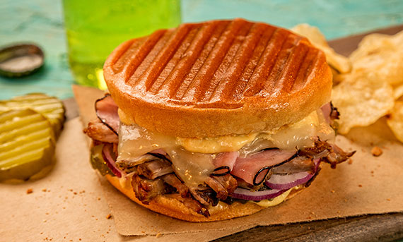 Grilled Cuban Bunini Sandwich