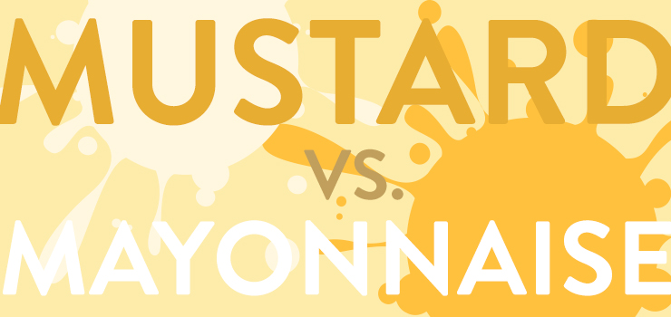 Mustard or mayo? The controversy, explained